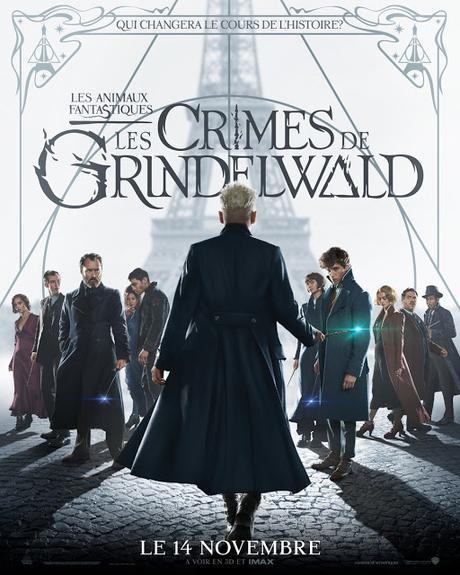 Les Animaux fantastiques : Les Crimes de Grindelwald : nouveau poster !