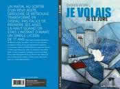 volais jure, Didier Pobel, couverture Chiara Fedele, éditions Bulles savon,