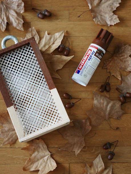 idée déco automne à faire soi-même feuilles mortes - blog décoration - clem around the corner