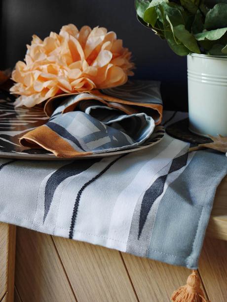 idée déco d'automne à faire soi-même buffetplateau fleurs set de table blog déco clem around the corner