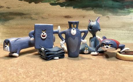 Tom et Jerry : ce fan japonais sculpte tous les traumatismes de Tom