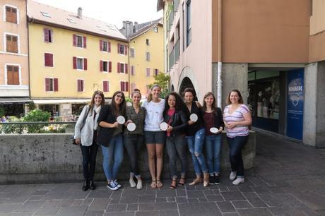 La rencontre avec 5 de mes lectrices autour d'un atelier DIY à La Renarde Apprivoisée à Annecy