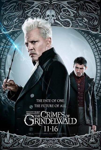 Nouvelles affiches US pour Les Animaux Fantastiques : Les Crimes de Grindelwald de David Yates
