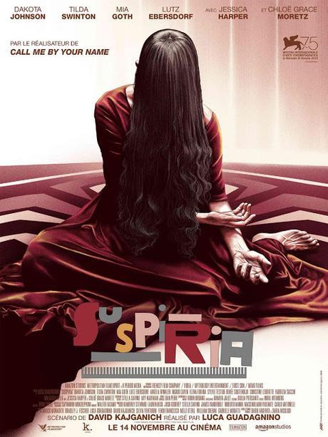 Nouvelle affiche VF pour Suspiria de Luca Guadagnino