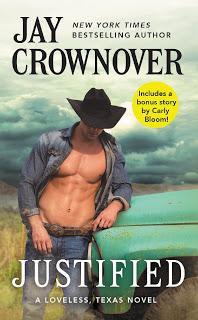 Cover Reveal : Découvrez la couverture et le résumé de Justified, le prochain roman VO de Jay Crownover