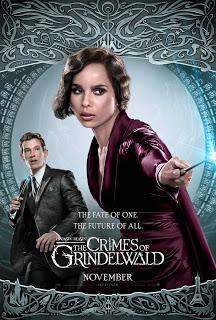Les Animaux fantastiques : Les Crimes de Grindelwald : Nouveaux poster personnages !