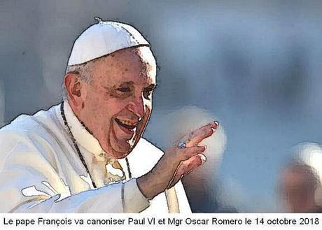 Paul VI et Mgr Romero, bientôt saints de l'Église catholique