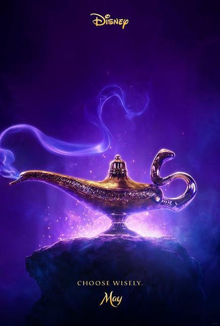 Première affiche teaser US pour le live action Aladdin de Guy Ritchie
