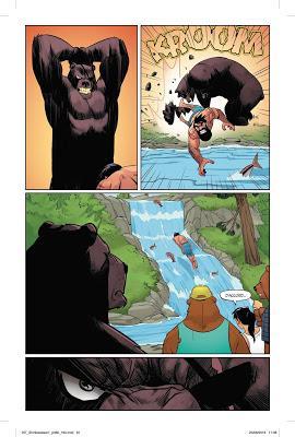 «Shirtless Bear Fighter » par Jody Leheup, Sebastian Girner, Nil Vendrell, Mike Spencer, dave Lamphear