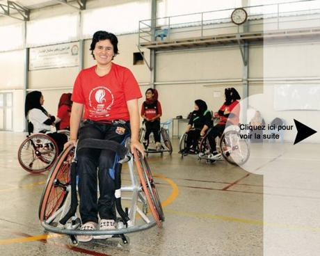 En Afghanistan, le handicap n'est pas un frein pour ces basketteuses