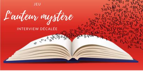 Jeu : l'auteur mystère #6bis
