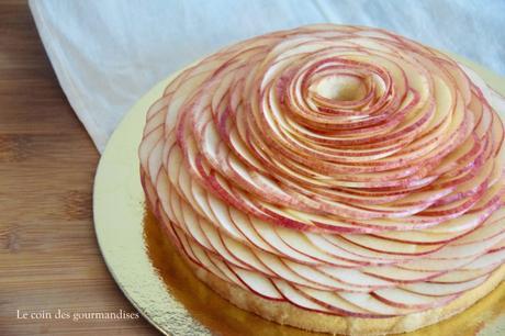 Tarte aux pommes façon Cédric Grolet