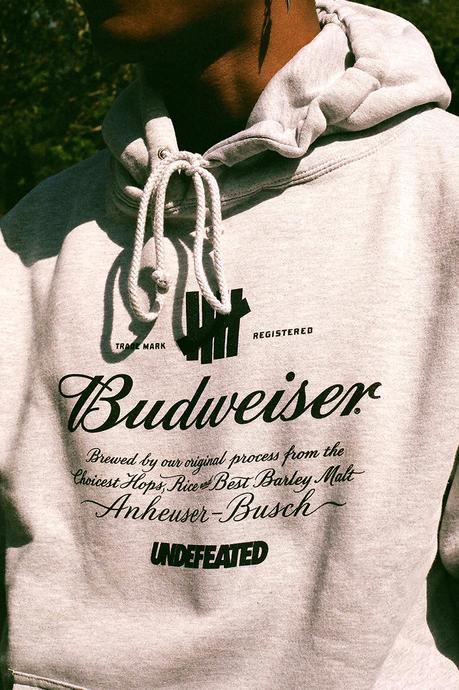 Undefeated s'associe avec le roi des bières Budweiser