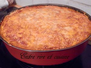 """Gâteau gratiné façon """"lasagnes"""" wraps"""