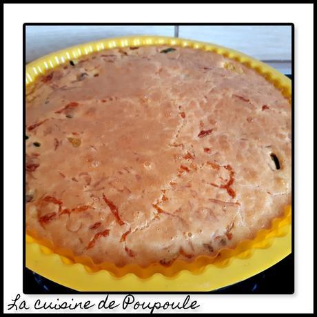 Quiche sans pâte courgette, poivron et chorizo au thermomix ou sans