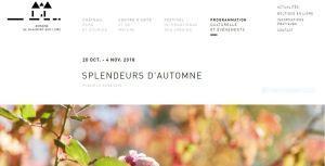 « Splendeurs d'Automne  » au château de Chaumont-sur-Loire
