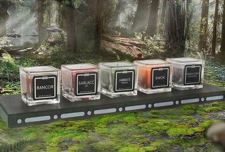 Les odeurs de Star Wars dans une collection de bougies parfumées