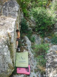 escalade bloc saint peray