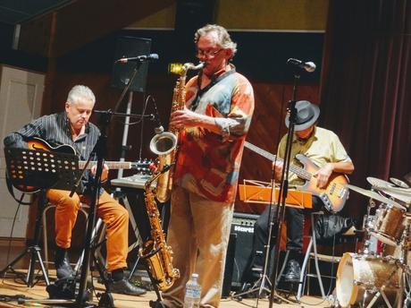 Cliscouet's Jazz Band à la Salle des Loisirs, Étables-sur-Mer, le 13 octobre 2018