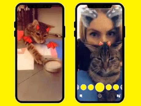 Dites « miaou » avec les nouveaux filtres Snapchat