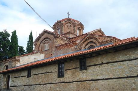 macédoine ohrid église sainte marie peribleptos
