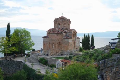 macédoine ohrid église saint jean kaneo