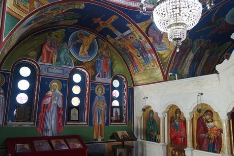 macédoine ohrid monastère saint naum église saint petka fresques