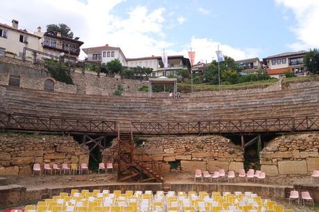 macédoine ohrid théâtre antique