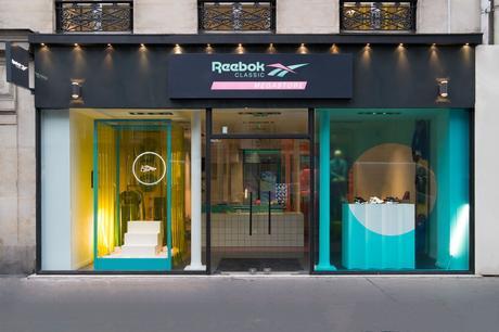 Reebok ouvre son mégastore à Paris