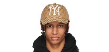 Gucci x NY Yankees Edition GG Supreme Pacth Cap