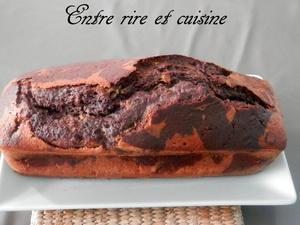 Cake marbré...on aime tous ! (façon C. Felder)