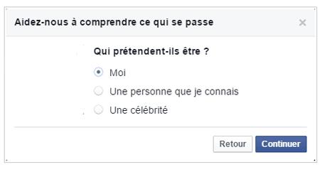 demander à fermer un compte facebook