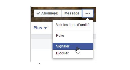 faire fermer un compte facebook de quelqu'un