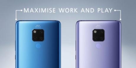 Le Huawei Mate 20 X.