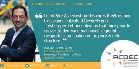 théâtre astral,jean mur romero michel,paris,théâtre