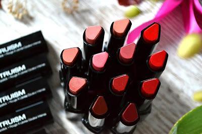 Truism de Kiss NY, revue et swatchs de ces rouge à lèvres satinés