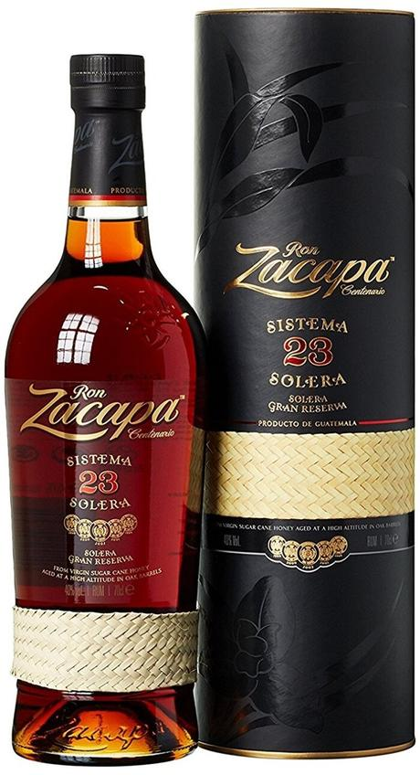 Le deuxième meilleur rhum en 2018: Le rhum RON ZACAPA 23 SISTEMA SOLERA 70 CL !
