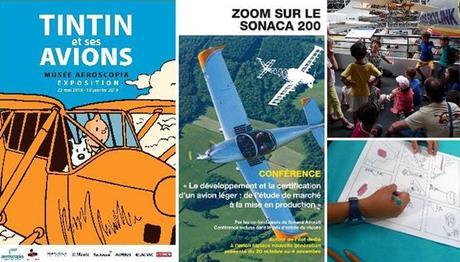 Pour les vacances de Toussaint, découvrez l'aéronautique en famille au musée aeroscopia !