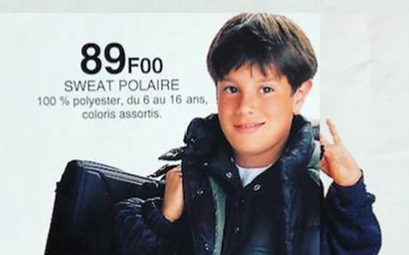 1993 : quand Kyan Khojandi était mannequin pour Leclerc