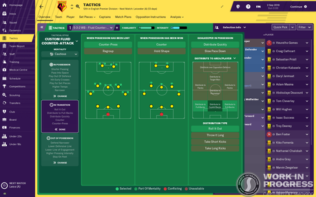 FM19 Football Manager 2019 screen