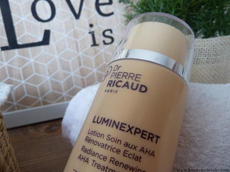 Lotion Luminexpert aux AHA Dr Pierre Ricaud, pour une peau plus lumineuse