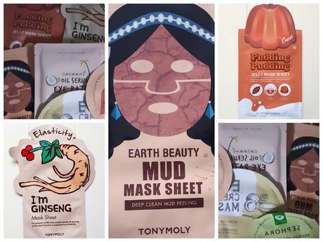 1 masque, 2 masques, 3 masques de chez Tony Molly