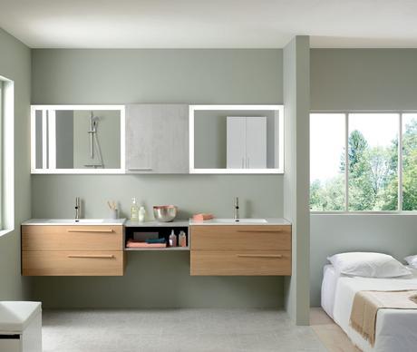 Choisir sa salle de bain pour une suite parentale - Focus Maison