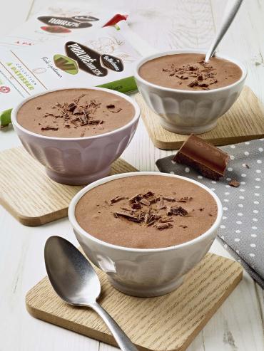 Mousse au chocolat bio Belledonne (très chocolatée)