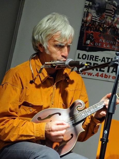 Late as Usual (Nick Malicka et Jean Sabot) au Ty-ar-Vro, Centre Culturel Breton, à Guingamp le 19 octobre 2018