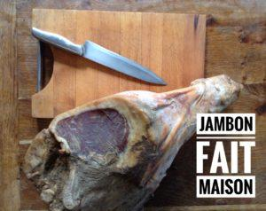 Jambon cru maison