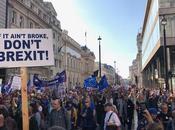 manifestants demandent second referendum Brexit