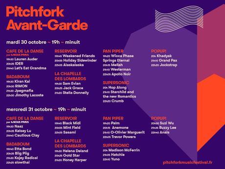 Pitchfork Music Festival Paris : 10 artistes à ne pas manquer