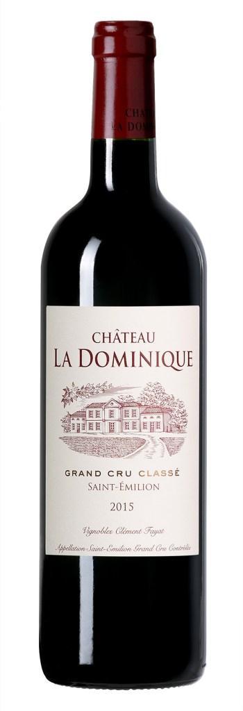Château la Dominique 2015 : le coup de cœur !
