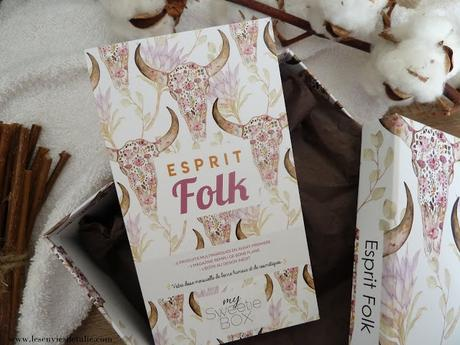 Esprit Folk - My Sweetie Box by Les Cosméticales Octobre 2018
